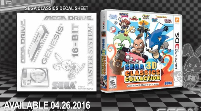 The SEGA 3D Classics Collection Adds Additional Retro Flare With 3DS Decals
