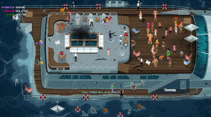 Party Hard, The Ultimate Party Crashing Murder Sim, Is Finally Heading To PS4 & Xbox One