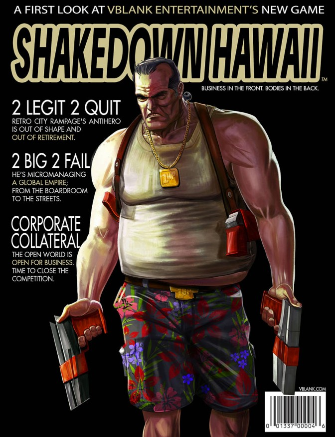 Shakedown Hawaii, The Open-World Follow Up To Retro City Rampage, Reveals A New Trailer