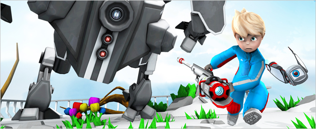 Abstraction Games Announced Their Platformer Kick & Fennick Is Heading To Consoles